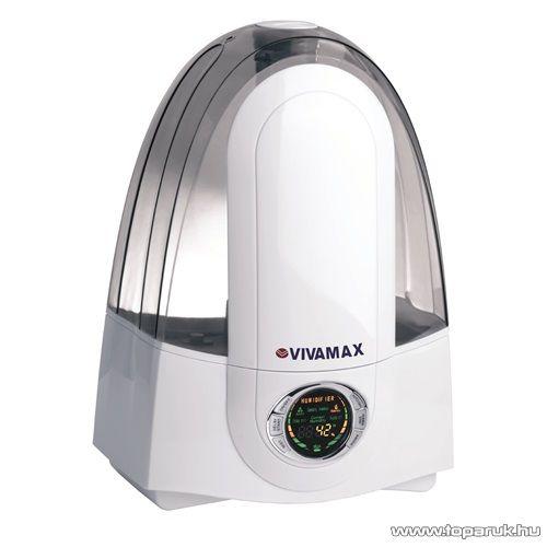 Vivamax GYVH23 Ultrahangos párásító készülék, negatív ion és 7 kényelmi funkcióval