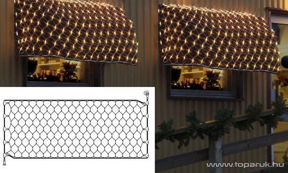 EXPO GALLERY KST 861 Kültéri toldható fényháló EXTRA, 4x2m, fehér