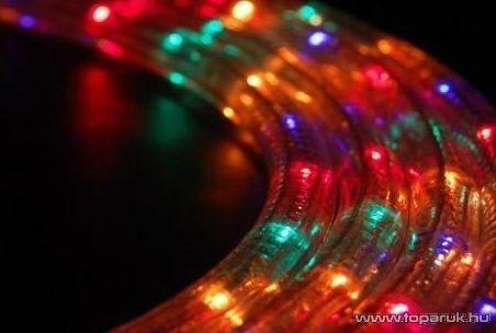 Design Dekor KMN 018 Készre szerelt fénytömlő, 15 m, multi színes