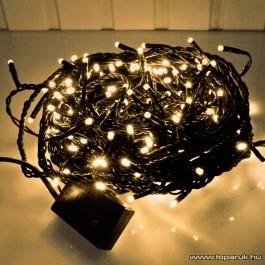 Twinkle Light KMN 050 Beltéri szabályozható fényfüzér, 360 db meleg fehér izzóval, sötét zöld vezetékkel (TW-360) - készlethiány