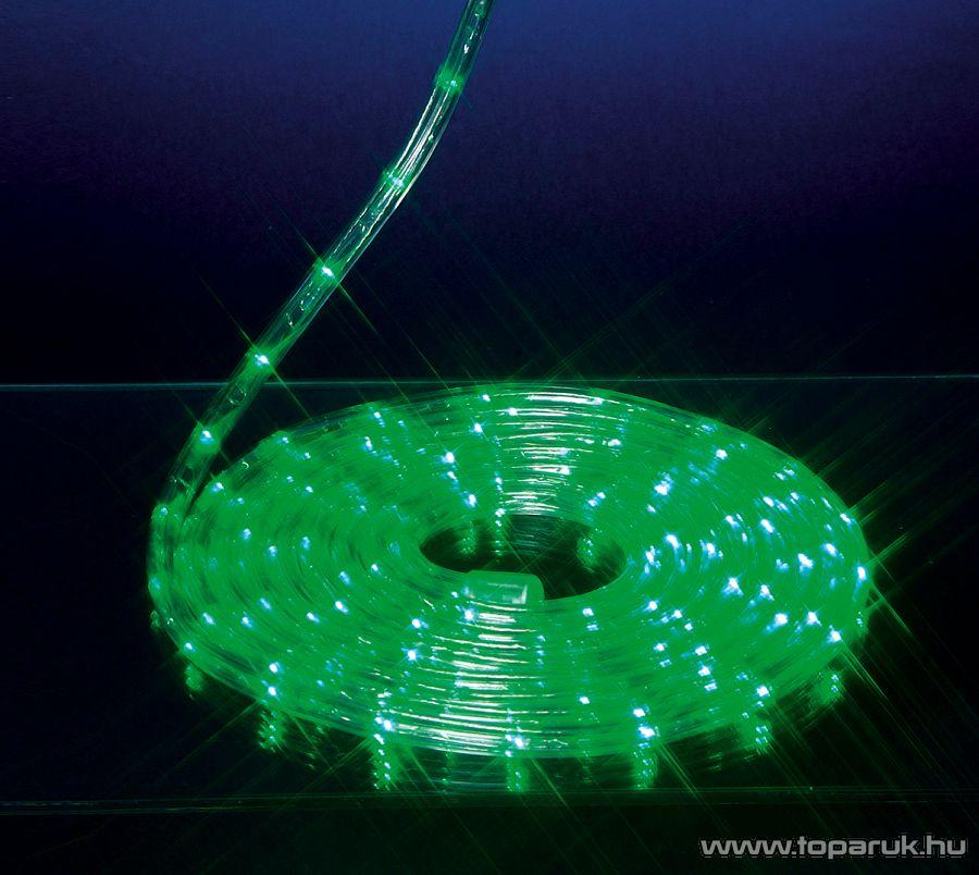 Design Dekor KSA 694 LED ROPE Kültéri LED fénytömlő, 10 m, zöld