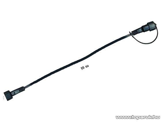 SYSTEM DECOR LED KSA 729 fekete toldókábel 10m, EXTRA