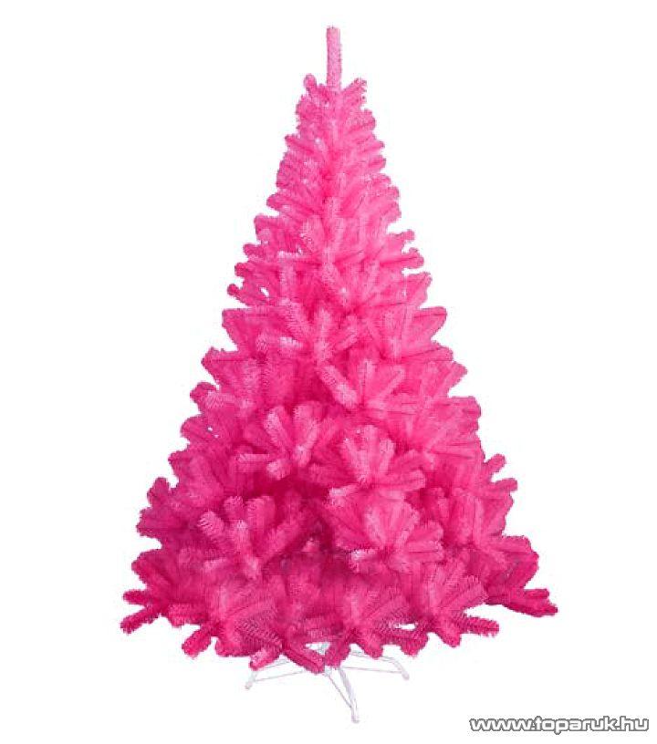PINK rózsaszín dús műfenyő, 180 cm (KFA 498)
