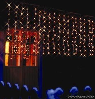 SERIE MICRO KSE 705 Kültéri Micro izzós fényfüggöny, 2x1m, fehér - készlethiány