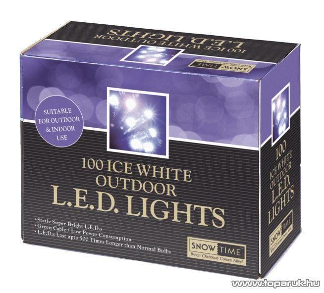 Design Dekor SNOWTIME KTC 089 Kültéri LED fényfüzér, 4,95 m, melegfehér