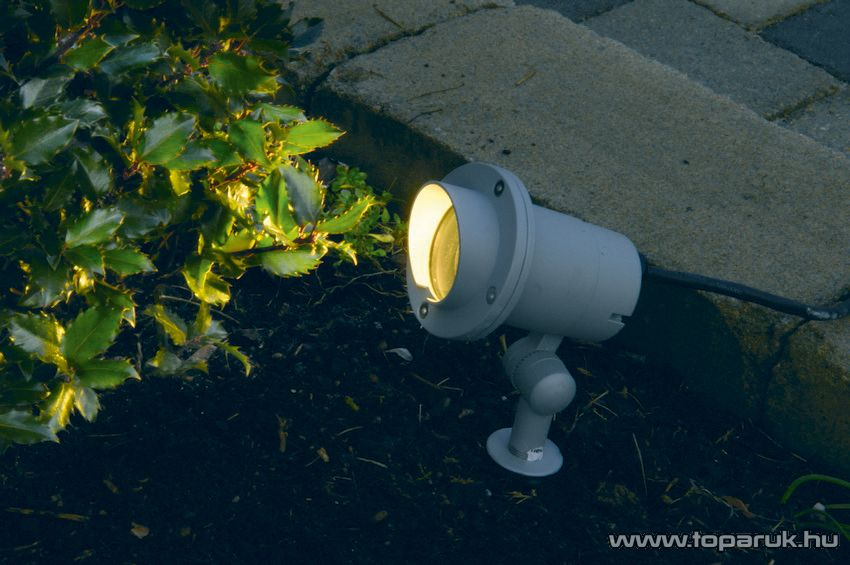 SYSTEM EXPO GARDEN GAR 601 Kültéri földbe szúrható kerti spotlámpa fókusz árnyékolóval EXTRA, 26 cm - készlethiány
