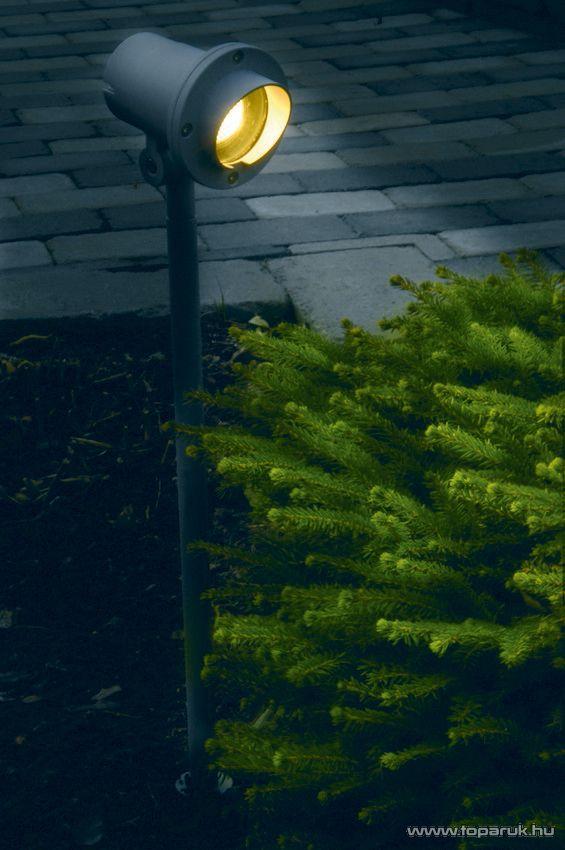 SYSTEM EXPO GARDEN GAR 603 Kültéri földbe szúrható kerti spotlámpa fókusz árnyékolóval EXTRA, 64 cm - készlethiány