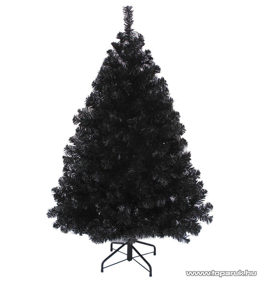 WONDER BLACK fekete dús műfenyő, 180 cm (KFA 398)