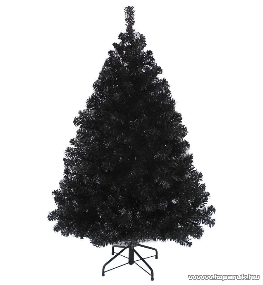 WONDER BLACK fekete dús műfenyő, 210 cm (KFA 391) - megszűnt termék: 2016. október