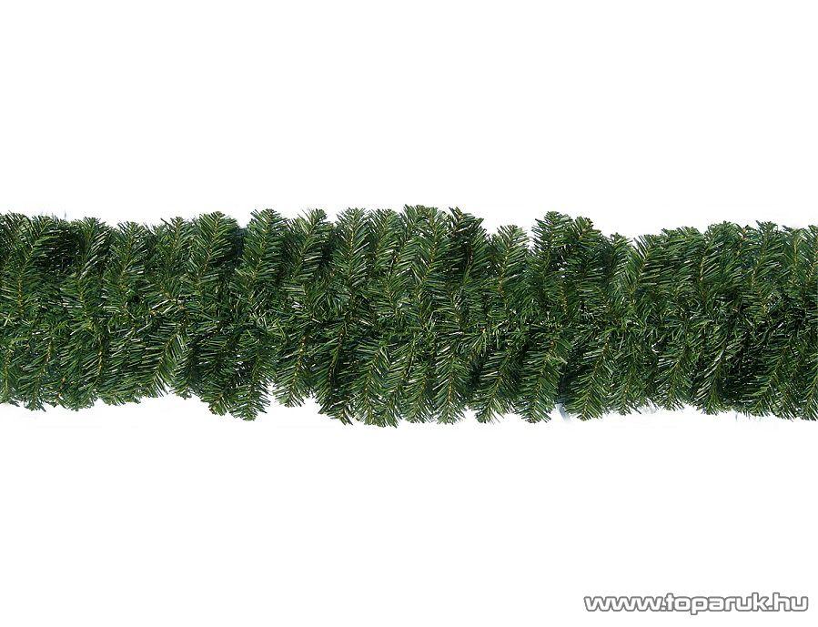 GIRLAND DÚS Zöld színű fenyő girland, 270 cm hosszú, 180 ág (KGR 730)