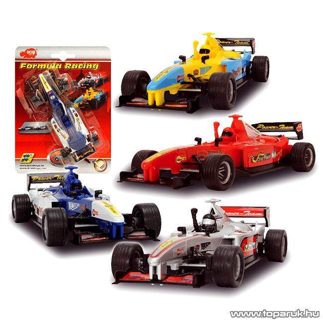 Dickie Formula 1 autó, 4 féle szín (203315528) - Megszűnt termék: 2015. November