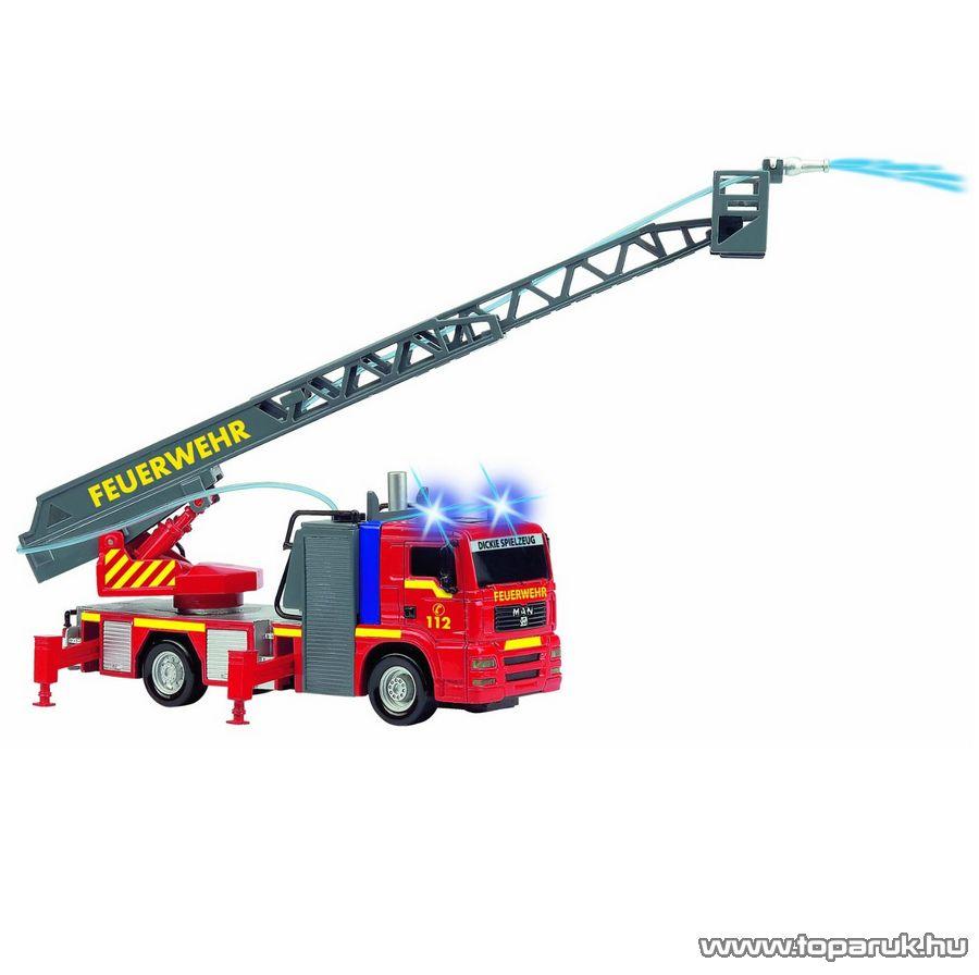 Dickie Funkciós létrás tűzoltóautó (203443993006) - Megszűnt termék: 2015. November