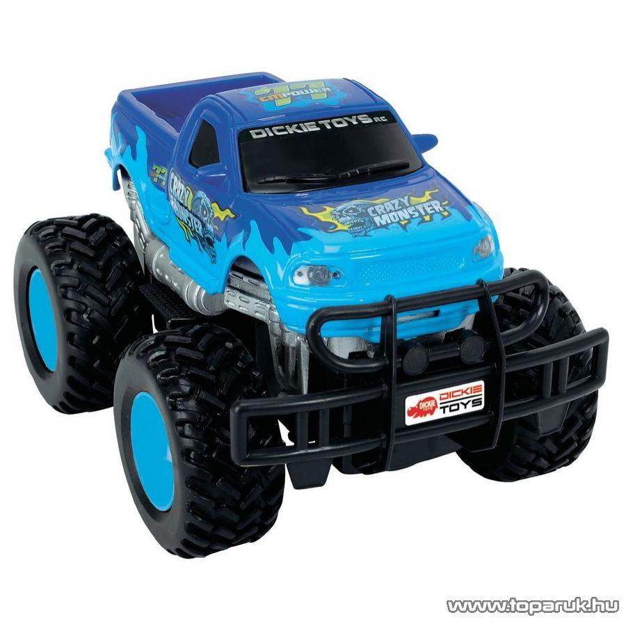 Dickie RC Crazy Monster távirányítós autó, 2 féle színben (201119051) - Megszűnt termék: 2015. November