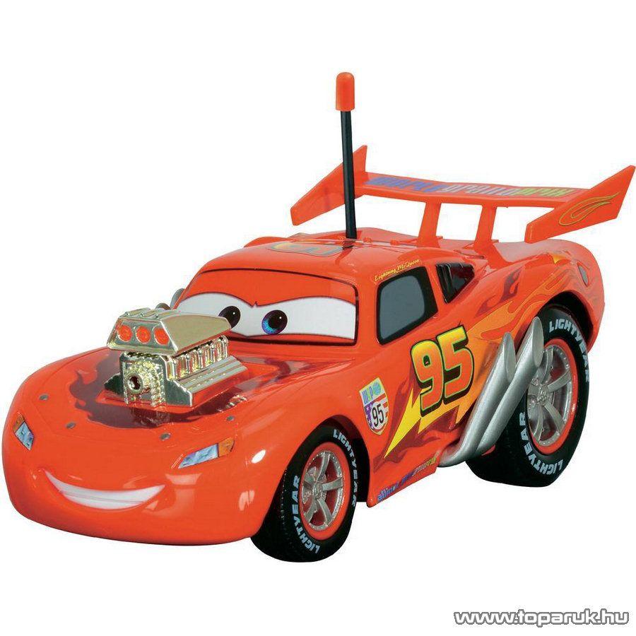 Dickie RC Verdák Hot Rod Villám McQueen távirányítós autó, 1:24 (203089547) - Megszűnt termék: 2015. November