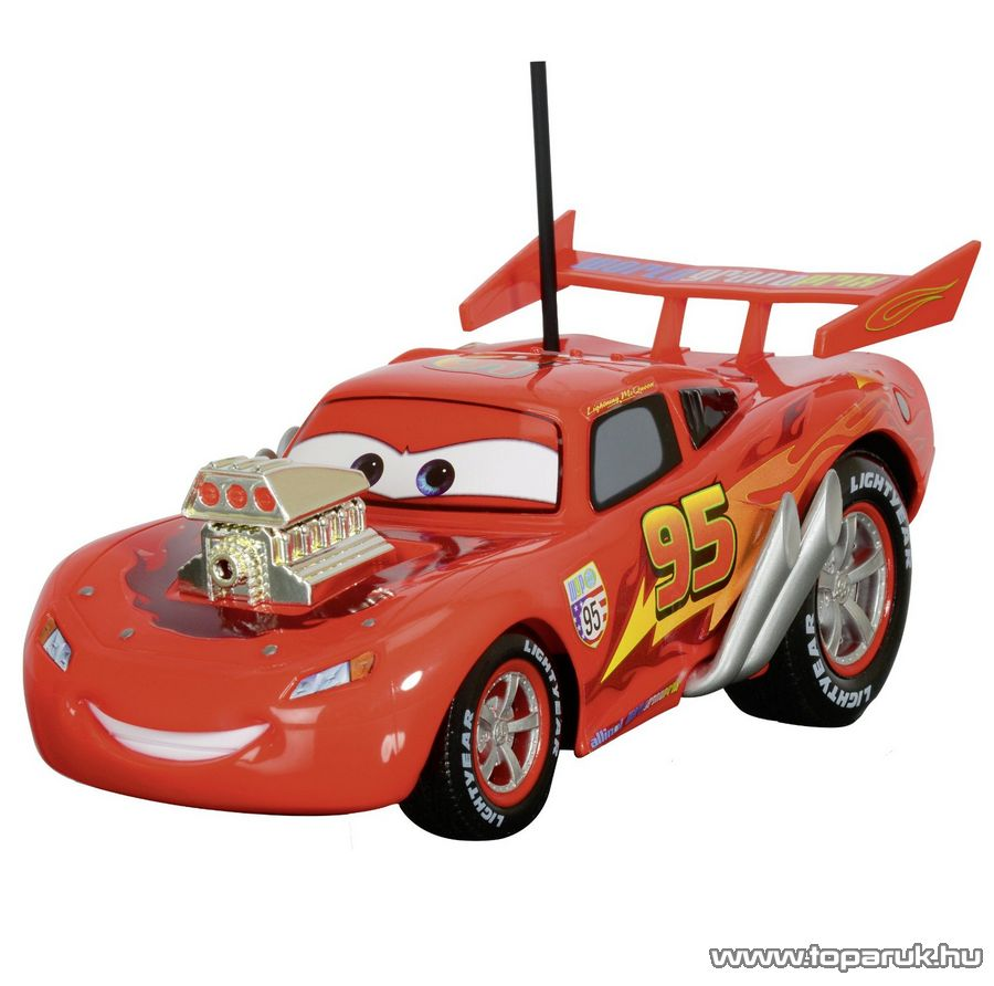 Dickie RC Verdák Hot Rod Villám McQueen Ultimate távirányítós autó, 1:12 (203089548) - Megszűnt termék: 2015. November
