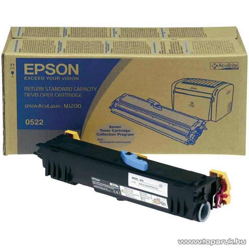 EPSON M1200 S050522 Eredeti fekete toner (C13S050522) - megszűnt termék: 2015 június