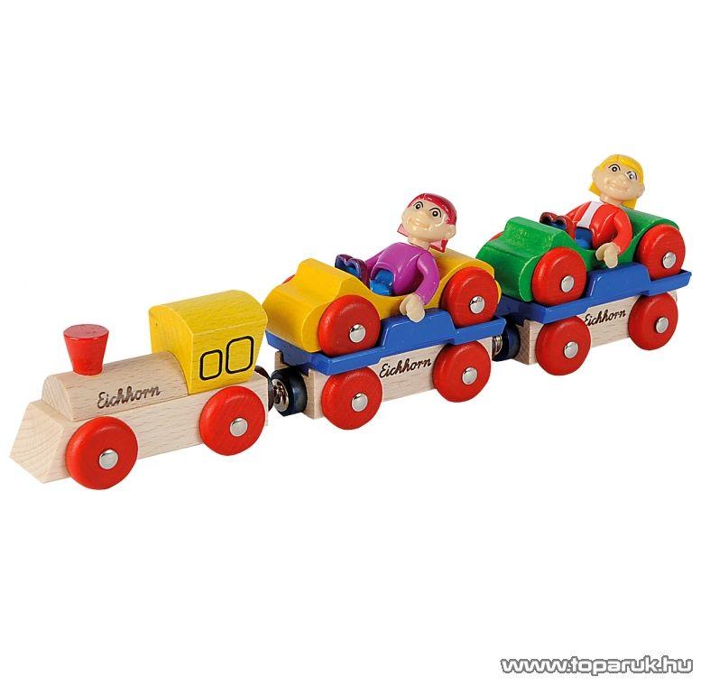 Eichhorn Mozdony szett utasokkal (100001360)
