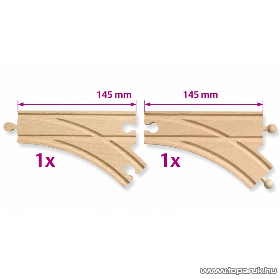 Eichhorn Váltó sín, 2 db / doboz (100001407)