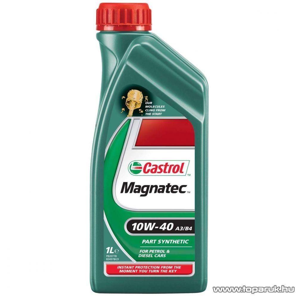 Castrol Magnatec 10W40 A3/B4 motorolaj benzinmotoros és diesel gépjárművekhez 1 liter