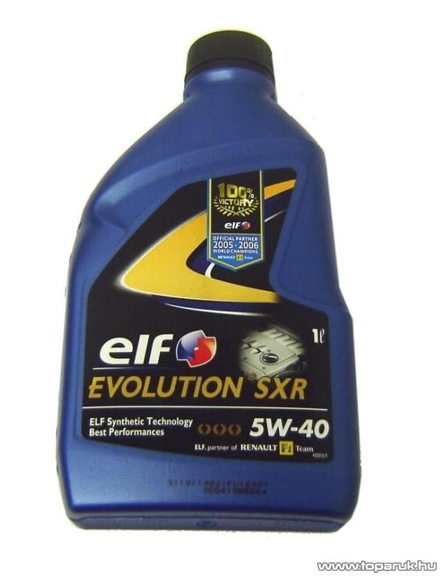 ELF 5W40 Evolution SXR (Excellium LDX) Renault gyári motorolaj 1 liter