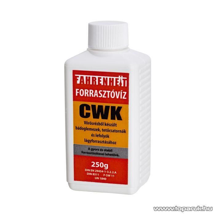 Fahrenheit Forrasztóvíz, CWK, 250g (17076) - megszűnt termék: 2015. július