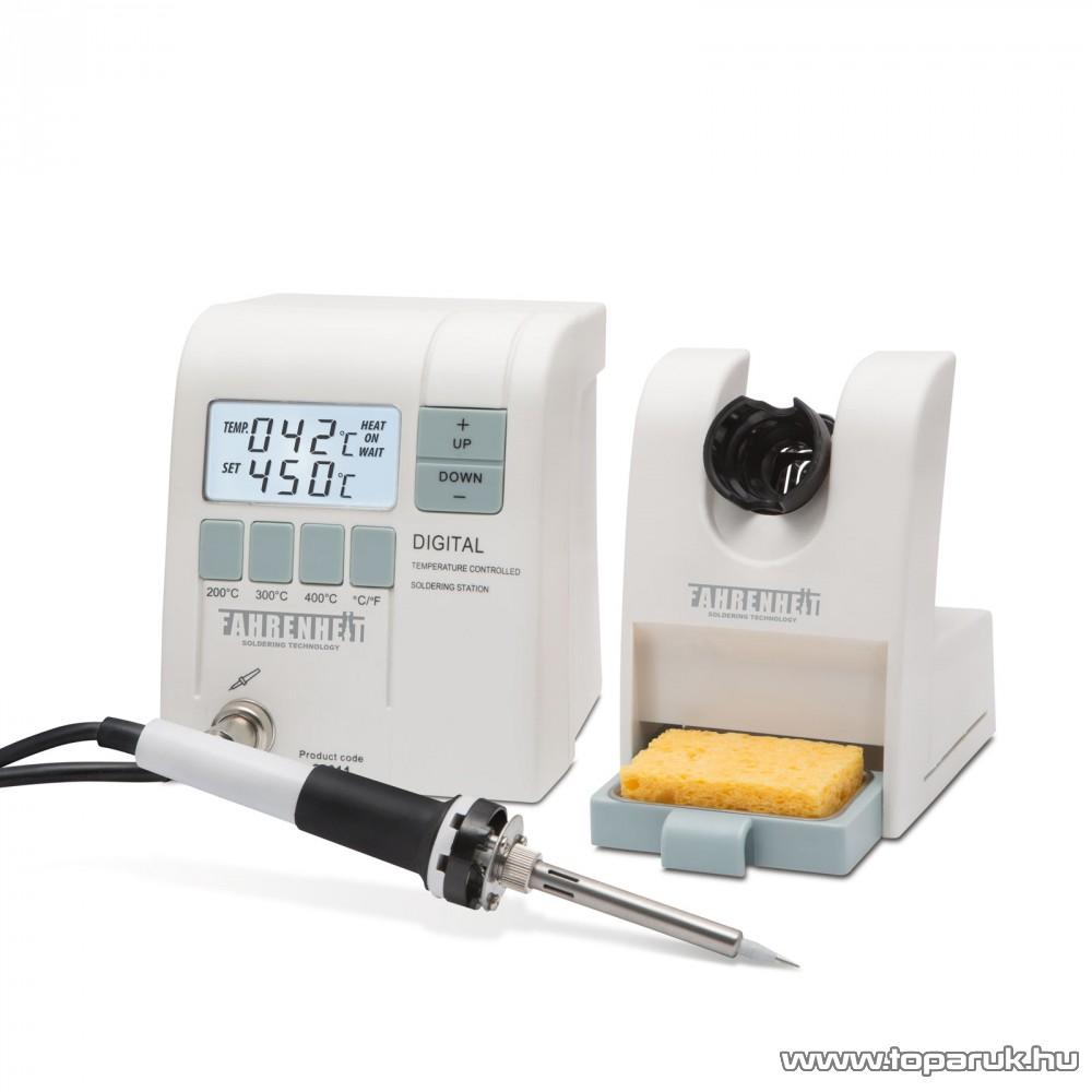 Fahrenheit Digitális forrasztóállomás 230V, 50W (28011)