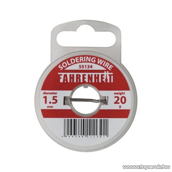Fahrenheit Forrasztó ón, 1,5 mm, 20 g (55134) - készlethiány