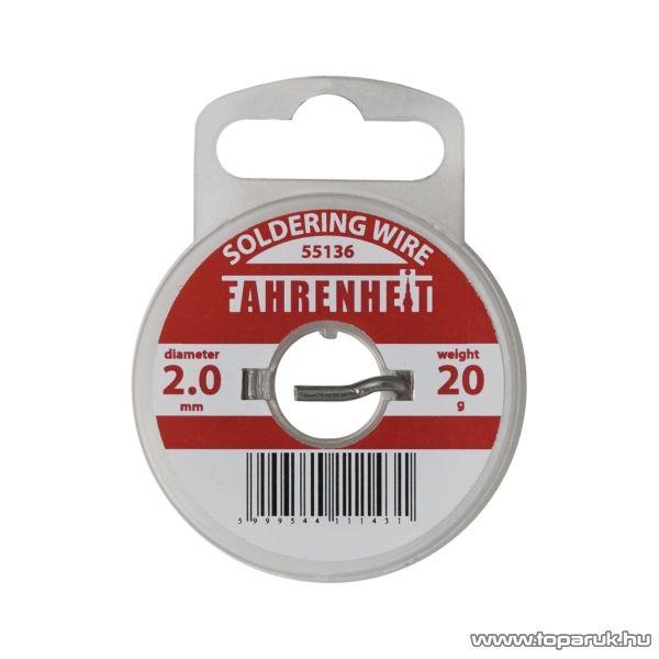 Fahrenheit Forrasztó ón, 2 mm, 20 g (55136) - készlethiány