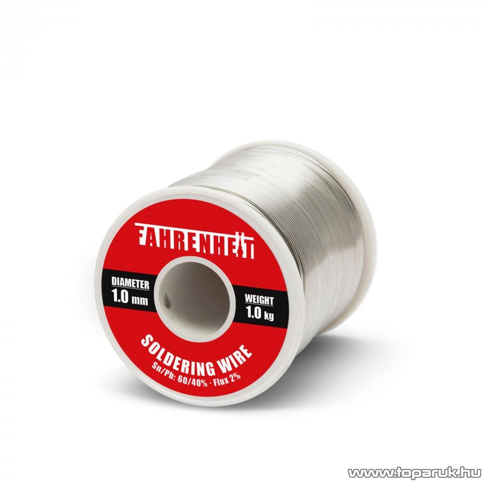 ROSIN FLUX CORED SOLDER Forrasztó ón, 1 mm átmérő, 1 kg (55080)