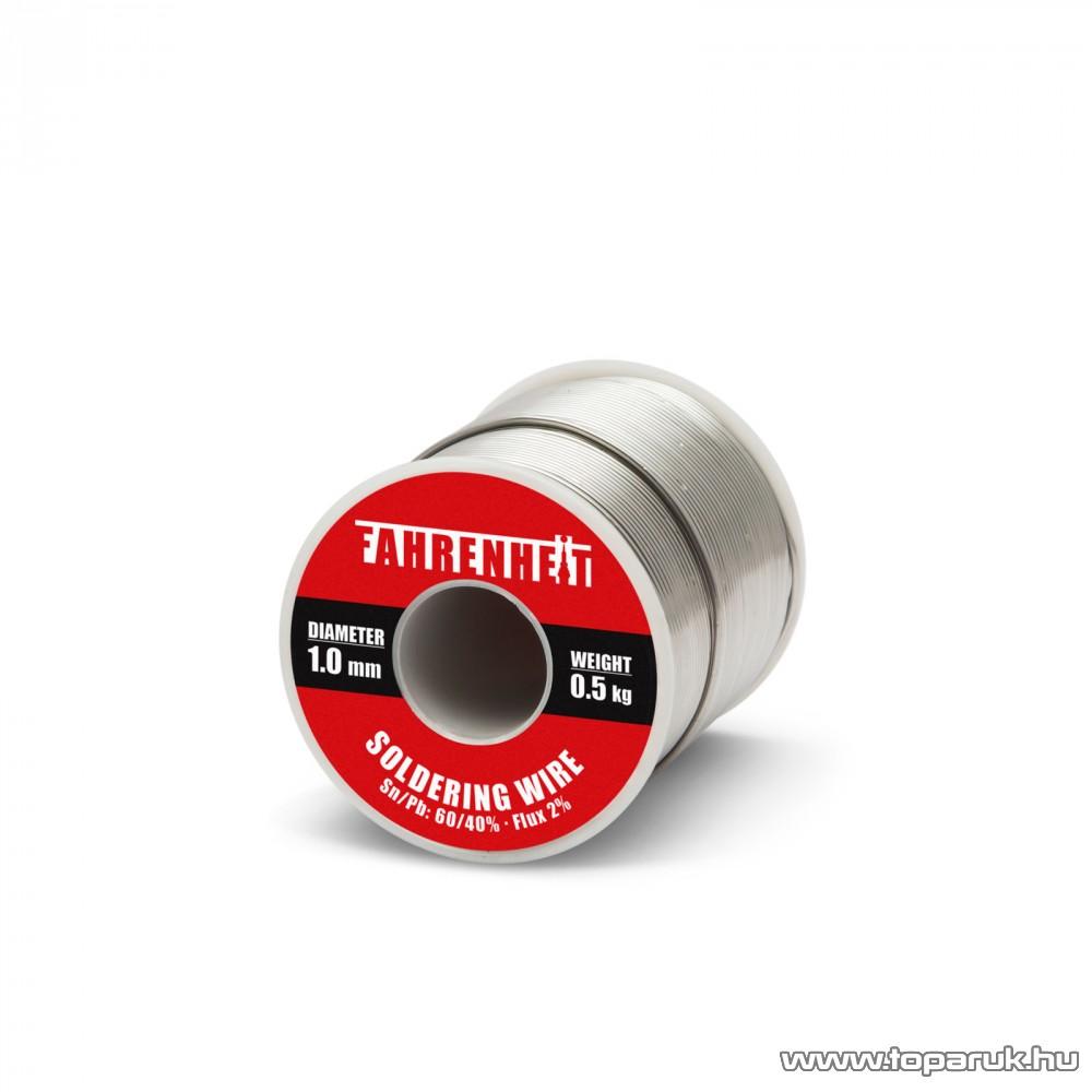 ROSIN FLUX CORED SOLDER Forrasztó ón, 1 mm átmérő, 0,5 kg (55082)