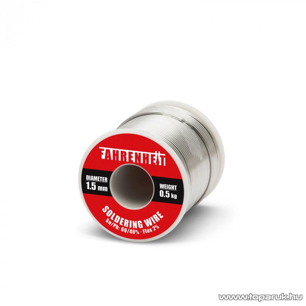 ROSIN FLUX CORED SOLDER Forrasztó ón, 1,5 mm átmérő, 0,5 kg (55088)