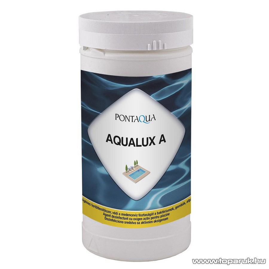PoolTrend / PontAqua AQUALUX A aktív oxigént tartalmazó medence vízfertőtlenítő szer, 1 kg (50 db tabletta)