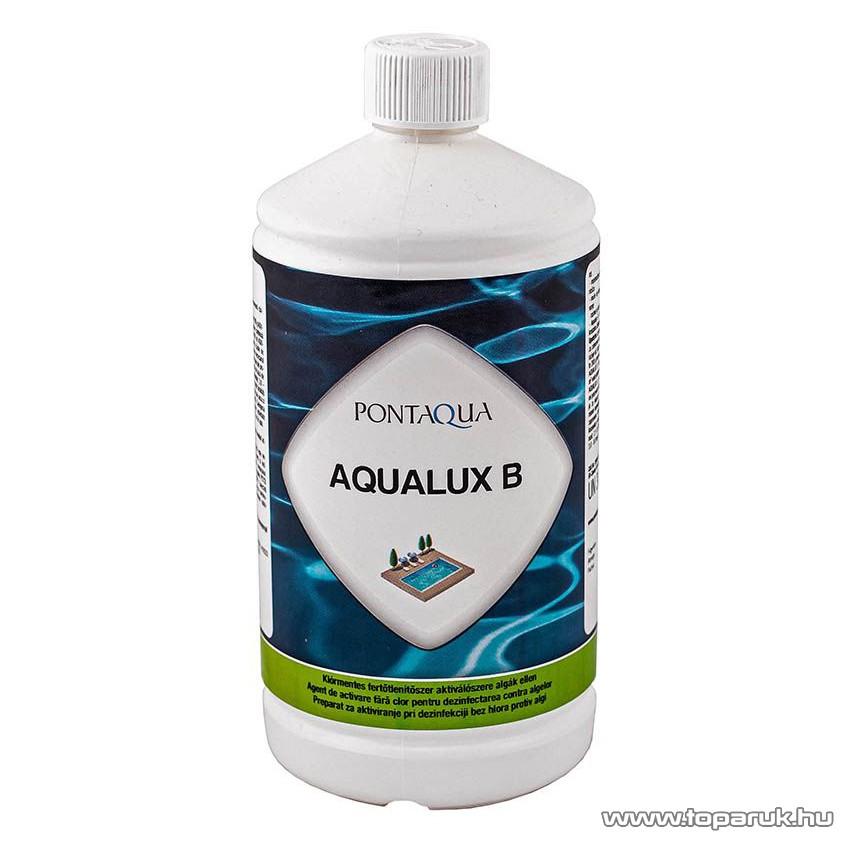 PoolTrend / PontAqua AQUALUX B kiváló minőségű, habzásmentes alga elleni vegyszer, 1 l