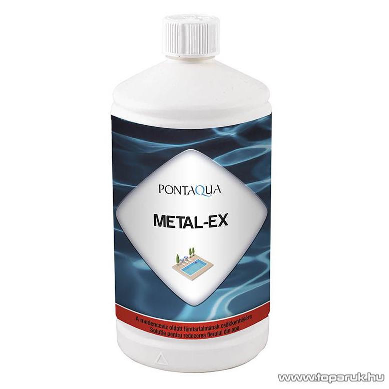 PoolTrend / PontAqua METAL-EX fém- és mészlerakódást eltávolító tisztító szer, 1 l