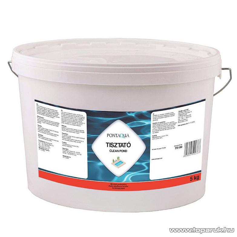 PoolTrend / PontAqua TISZTATÓ tavak karbantartásához használható szer, 5 kg