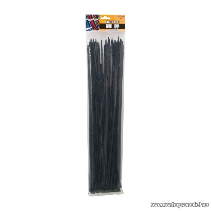 Handy Vezetékkötegelő 450x4,6mm, fekete, 100 db / csomag (05425)