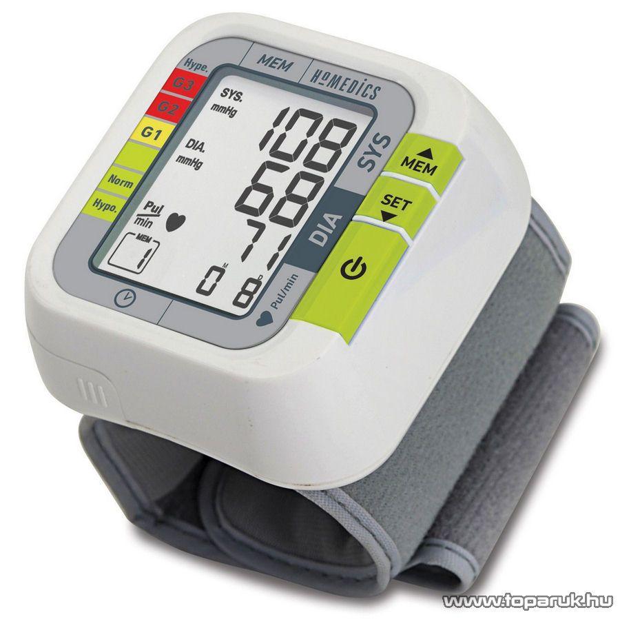 Homedics BPW-1000-EU Automata csuklós vérnyomásmérő