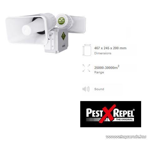 PestXRepel BR-33 Szonikus madár riasztó (hatótávolság max. 30000 m2)