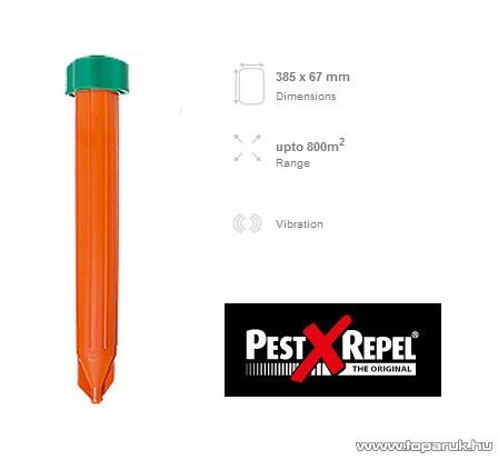 PestXRepel KR-8 vakondriasztó (hatósughár max. 800 m2)