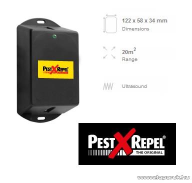 PestXRepel PR-12 Autós ultrahangos rágcsálóriasztó 12V 20 m2