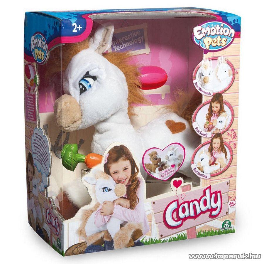 Candy az interaktív plüss póni