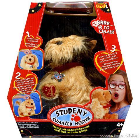 Epee Hideg orrú interaktív plüss yorki kutyus - készlethiány