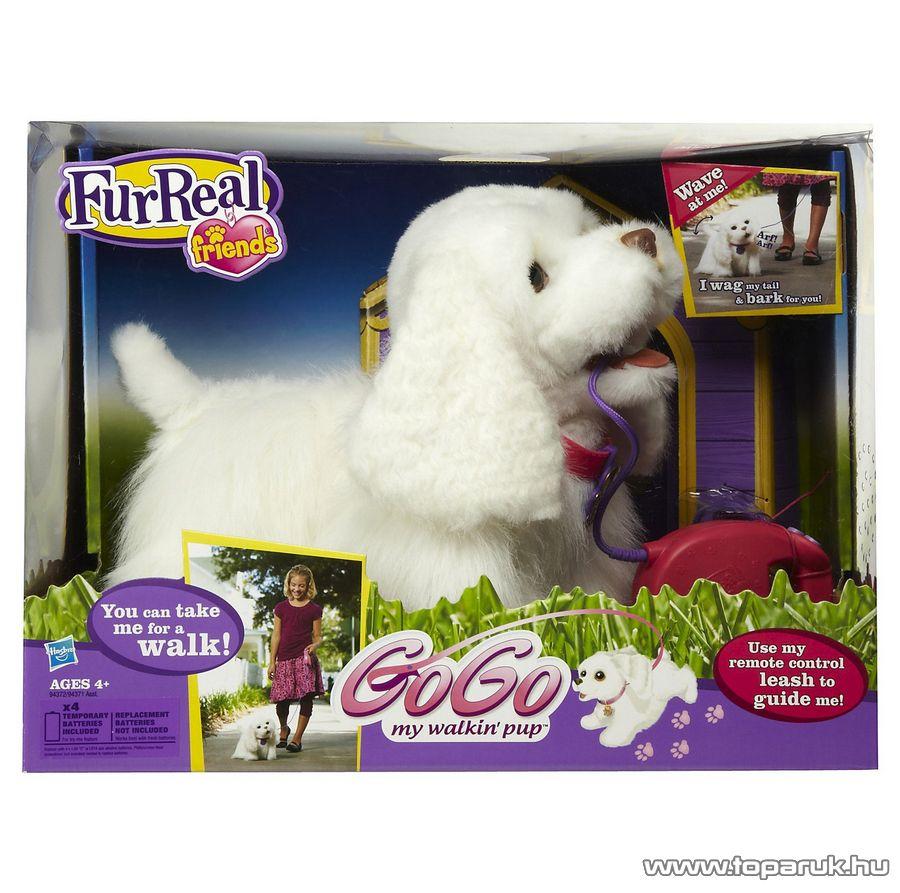 FurReal Friends GoGo sétáló interaktív plüss kutyus - Megszűnt termék: 2015. Október