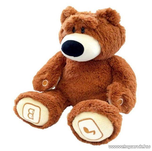 Interaktív mackó koma, interaktív plüss medve