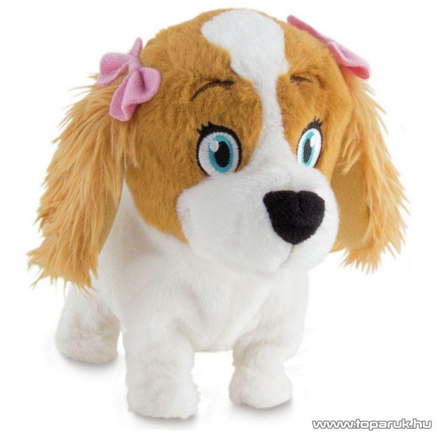 Lola interaktív plüss kutya