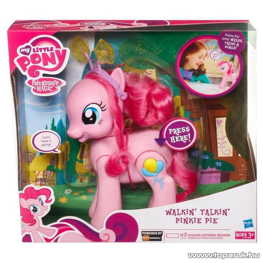 Hasbro My Little Pony, Én kicsi pónim: sétáló és beszélő Pinkie Pie (magyar nyelvű) - Megszűnt termék: 2015. December