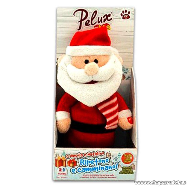 Pelux and Me Karácsonyi, beszédet ismétlő plüss Mikulás
