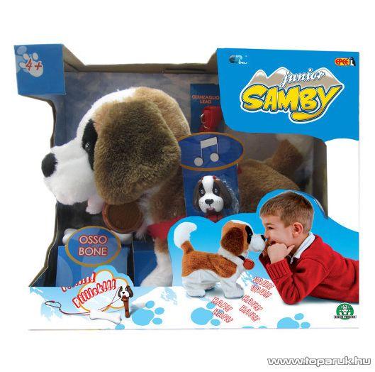 Samby Interaktív plüss kölyök bernáthegyi kutya - készlethiány