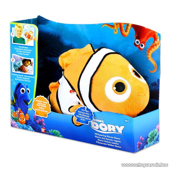 Szenilla nyomában: Suttogó hullámok plüssfigura, interaktív plüss Nemo