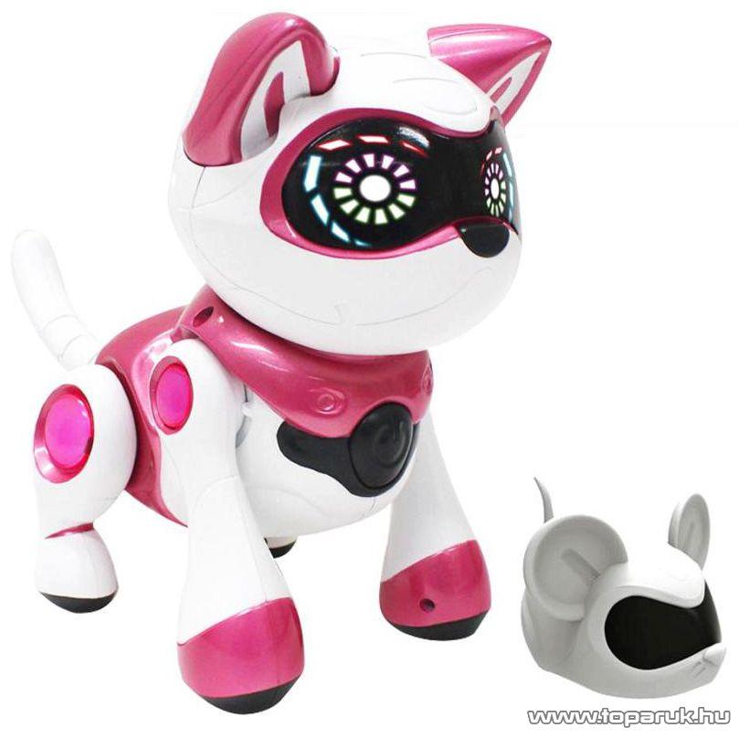 TEKSTA Robot cica, interaktív játék Kitty macska - készlethiány